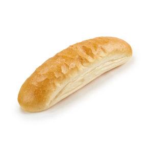 White Hot Dog Roll
