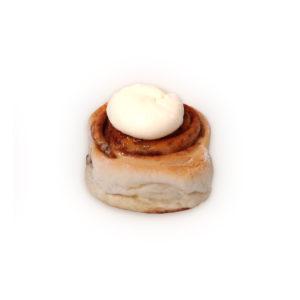 Cinnamon Mini Scroll Cream Cheese Icing
