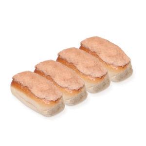 Mini Finger Bun 4-Pack - Boston Icing & Cinnamon