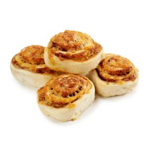 Mini Cheesymite Scrolls/Twirls 4-pack