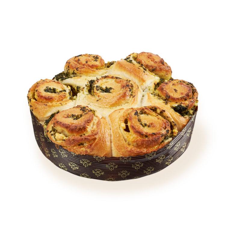 Spinach & Fetta Swirl