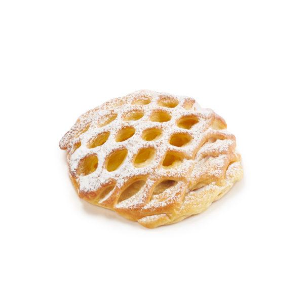 Custard Danish Lattice