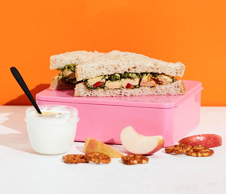 Frittata Pesto Sandwich
