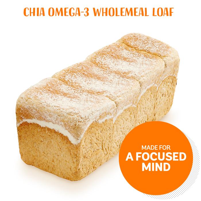 Chia Omega-3 Wholemeal Loaf