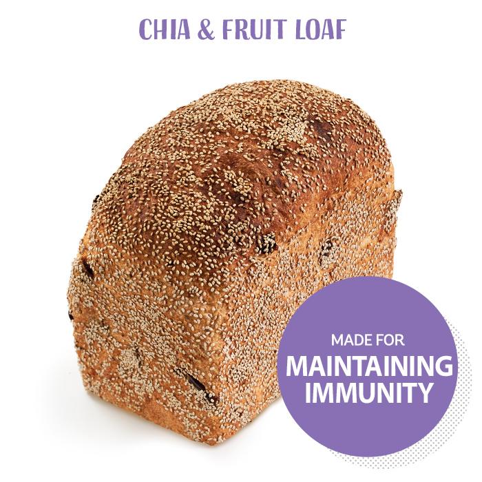 Chia & Fruit Loaf
