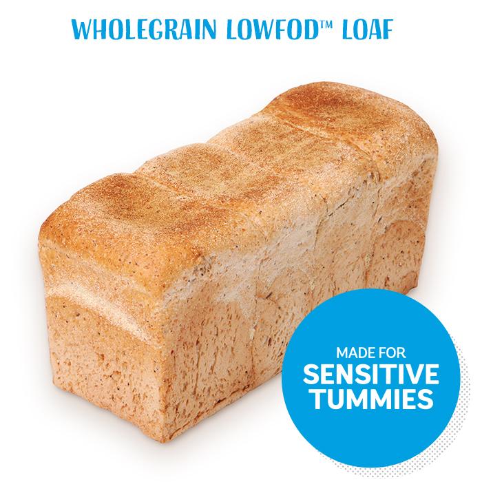 Wholegrain LowFOD Loaf