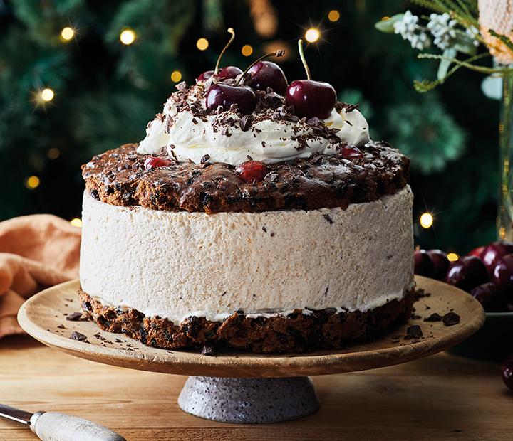 Christmas Cake Semifreddo