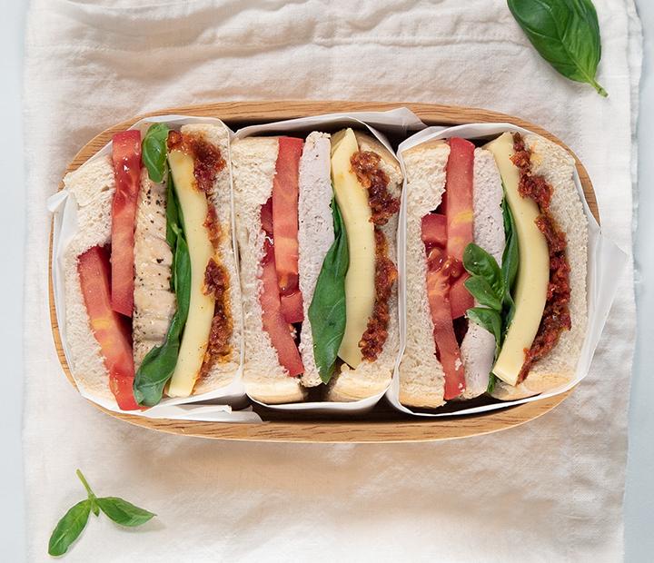 Gobble Gobble Turkey Sandwich