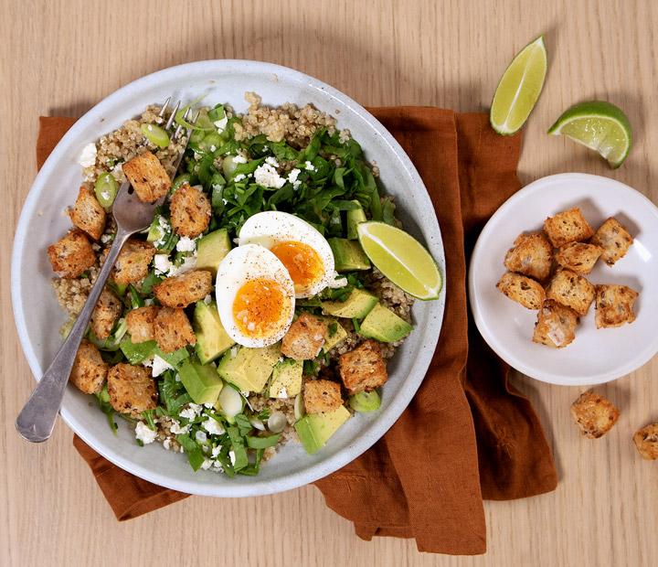 Green brekky bowl recipe