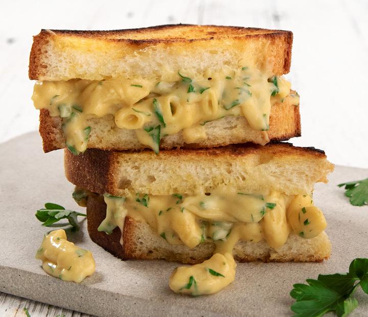 Vegan Mac & Cheesey Toastie recipe